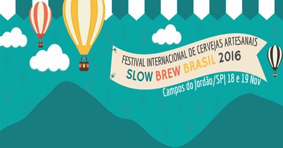 Slow Brew Brasil reúne mais de 160 rótulos de cervejas artesanais em Campos do Jordão Eventos BaresSP 570x300 imagem