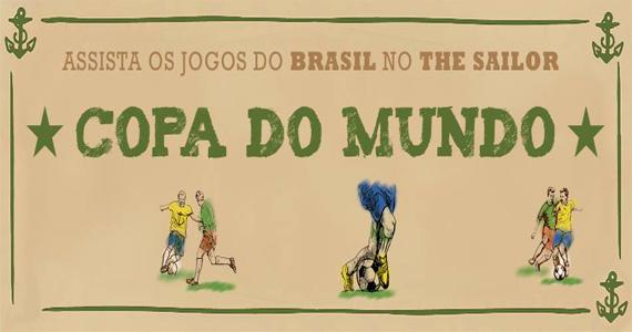 Bandas Insonica e Mr. Burns se apresentam no The Sailor com jogo do Brasil Eventos BaresSP 570x300 imagem