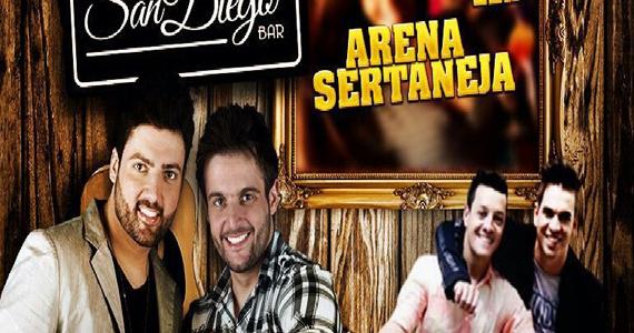 Arena Sertaneja com Nando & Ricky e Rudi & Rodrigo nesta sexta no San Diego Bar Eventos BaresSP 570x300 imagem