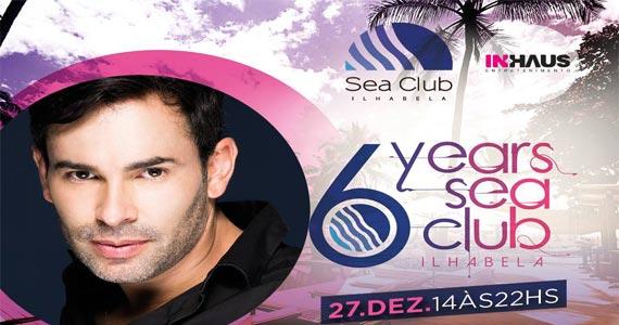 Aniversário de 6 anos do Sea Club com apresentação do DJ Tom Keller Eventos BaresSP 570x300 imagem