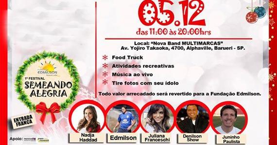 1º Festival Semeando Alegria recebe atrações especiais neste sábado Eventos BaresSP 570x300 imagem