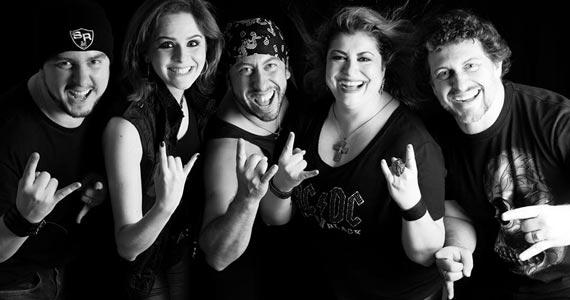 Banda Sir Rock com o melhor do rock clássico no palco do B Music Bar Eventos BaresSP 570x300 imagem