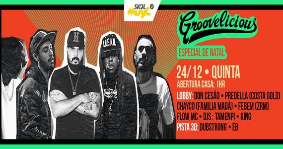 Skol Music apresenta a Festa Groovelicius Especial de Natal na Lions Nightclub Eventos BaresSP 570x300 imagem