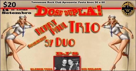 Henry Paul Trio Rockabilly se apresenta sábado no Sky Music Bar Eventos BaresSP 570x300 imagem
