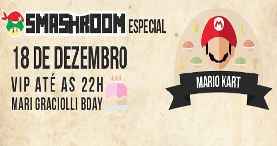 Festa Smashroom - Edição Mario Kart anima a Blitz Haus na sexta Eventos BaresSP 570x300 imagem
