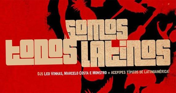 Lançamento Somos Todos Latinos apresenta atrações para a noite da Neu Club Eventos BaresSP 570x300 imagem