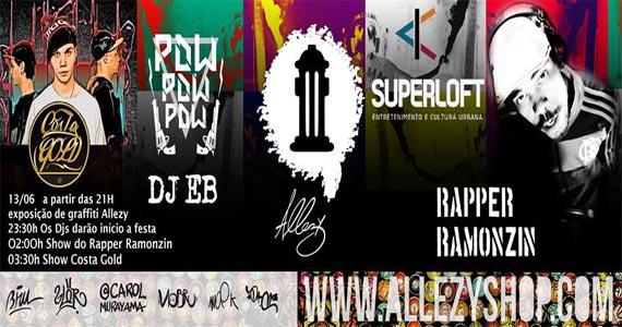 Superloft promove Festa de lançamento da Allezy com show de Mc Nog, Spinardi e rapper Ramonzin Eventos BaresSP 570x300 imagem