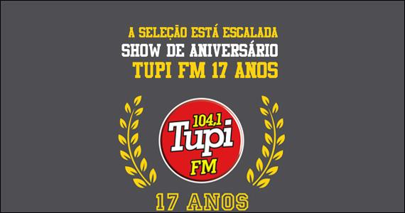 Villa Country é palco do show de 17 anos da Rádio Tupi FM Eventos BaresSP 570x300 imagem