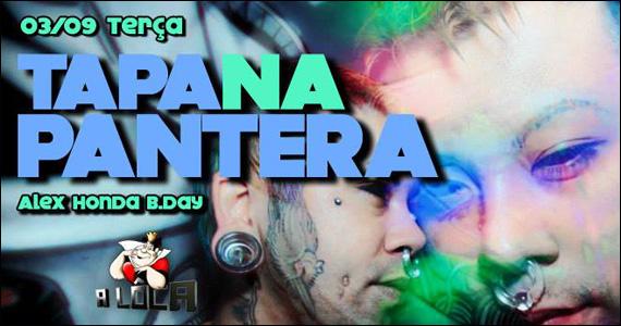 A Lôca apresenta nesta terça-feira a Festa Tapa na Pantera Eventos BaresSP 570x300 imagem
