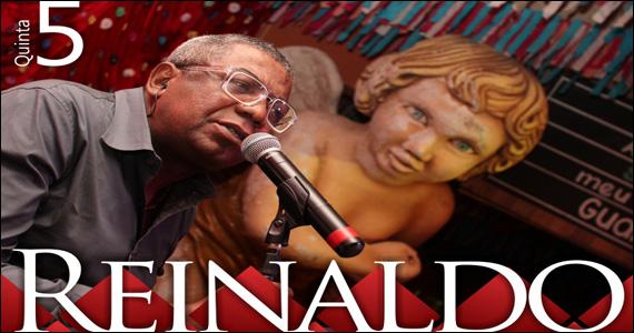 Reinaldo comanda a noite de quinta-feira do Templo Bar de Fé  Eventos BaresSP 570x300 imagem
