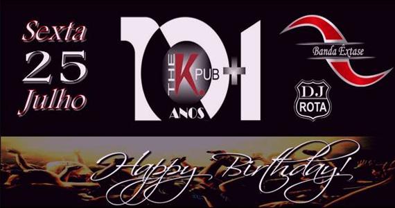 Aniversário do The K. Pub com banda Extase nesta sexta - Rota do Rock Eventos BaresSP 570x300 imagem