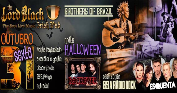 The Lord Black e programa Esquenta da 89 FM recebem Brothers Of Brazil nesta sexta-feira Eventos BaresSP 570x300 imagem