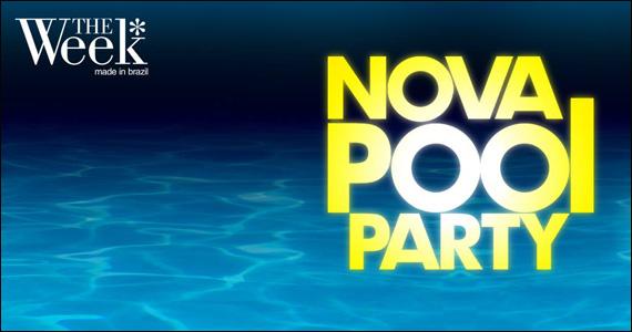 No domingo acontece a Festa Nova Pool Party na The Week  Eventos BaresSP 570x300 imagem