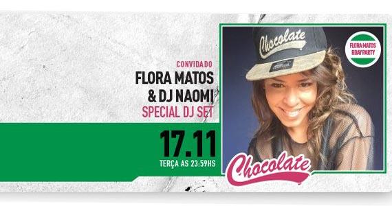 The Year recebe a Festa Chocolate com o show da cantora Flora Matos Eventos BaresSP 570x300 imagem