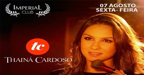 Festa Sertanejinho recebe show de Thainá Cardoso agitando a noite da Imperial Club Eventos BaresSP 570x300 imagem