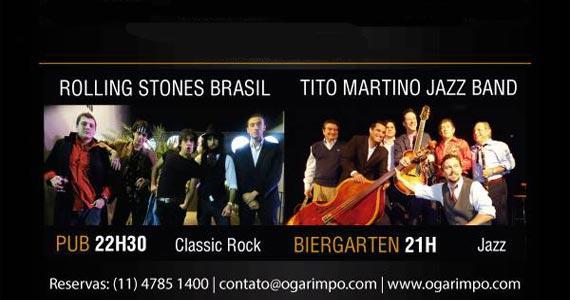 Show de Tito Martino Jazz e Rolling Stones Brasil agitam a noite do Garimpo Eventos BaresSP 570x300 imagem