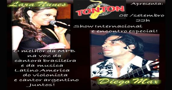 Misturas de ritmos com atrações especiais no palco do Ton Ton  Eventos BaresSP 570x300 imagem