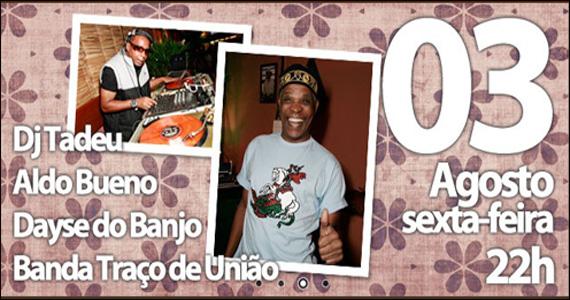 Muito samba na noite de sexta-feira do Traço de União Eventos BaresSP 570x300 imagem