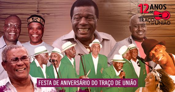 Festa de Aniversário de 12 anos do Traço de União com convidados especiais na sexta-feira Eventos BaresSP 570x300 imagem