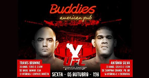 Buddies transmite ao vivo as lutas do UFC On FX 5 Eventos BaresSP 570x300 imagem