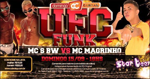 UFC do Funck com MC Magrinho x MCs BW no Cabral Eventos BaresSP 570x300 imagem