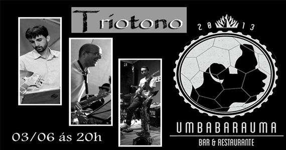 Tríotono Trio embala a terça com muito Jazz no Umbabarauma Bar Eventos BaresSP 570x300 imagem