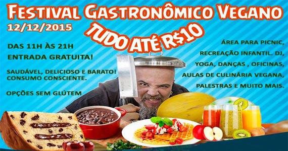 Festival Gastronômico Vegano oferece muitas delícias na Associação Atlética Acadêmica Oswaldo Cruz Eventos BaresSP 570x300 imagem