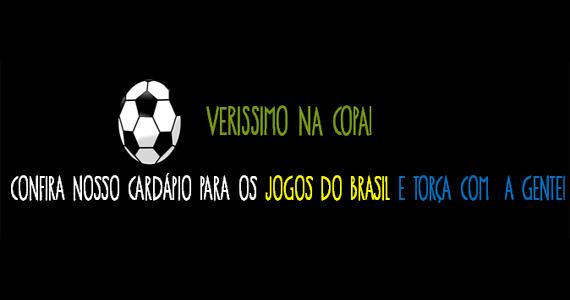 Veríssimo Bar transmite jogos do Brasil com pacote fechado, caipirinhas temáticas e promoções Eventos BaresSP 570x300 imagem