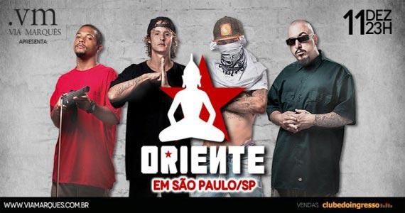 Grupo Oriente canta sucessos do Rap  no palco do Via Marquês Eventos BaresSP 570x300 imagem