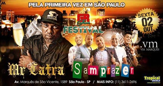 Mr. Catra e Grupo Samprazer animam o palco do Via Marquês na sexta Eventos BaresSP 570x300 imagem