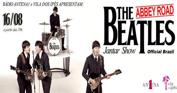 Jantar especial com show em tributo ao Beatles neste sábado no Vila dos Ipês Eventos BaresSP 570x300 imagem