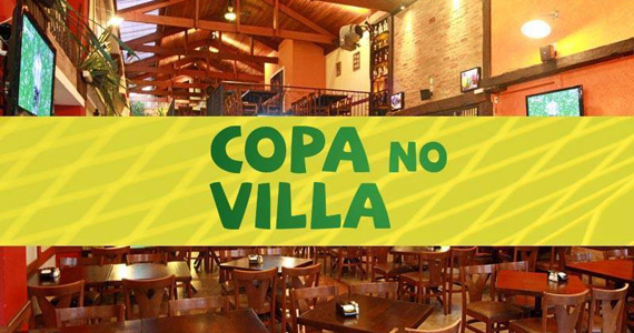 Villa Caetano's oferece pacote open bar no jogo do Brasil neste sábado Eventos BaresSP 570x300 imagem