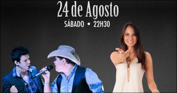 Bruno di Marco & Cristiano e Thainá Cardoso no Villa Mix  Eventos BaresSP 570x300 imagem