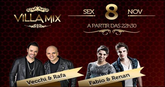 Apresentação das duplas Vecchi & Rafa e Fábio & Renan no Villa Mix Eventos BaresSP 570x300 imagem