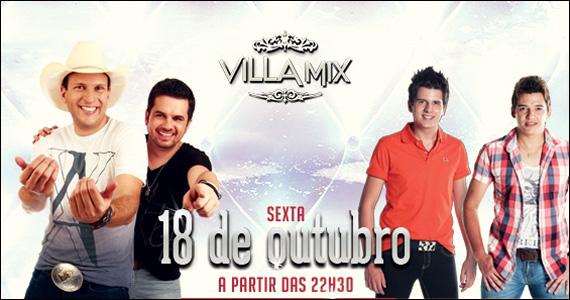 Duplas Matheus Minas & Leandro e Geovany Reis & Fabrício se apresentam no palco do Villa Mix Eventos BaresSP 570x300 imagem