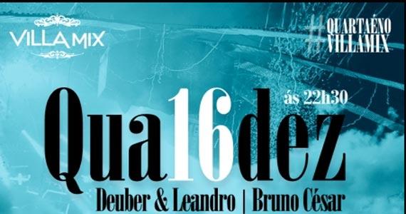 Deuber & Leandro e convidados agitam a noite do Villa Mix na quarta Eventos BaresSP 570x300 imagem