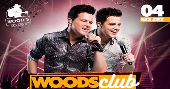 João Neto e Frederico cantam seus maiores sucessos na Wood's Bar  Eventos BaresSP 570x300 imagem