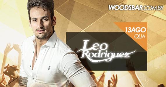 Cantor Leo Rodriguez se apresenta nesta quarta-feira na Wood's Bar Eventos BaresSP 570x300 imagem