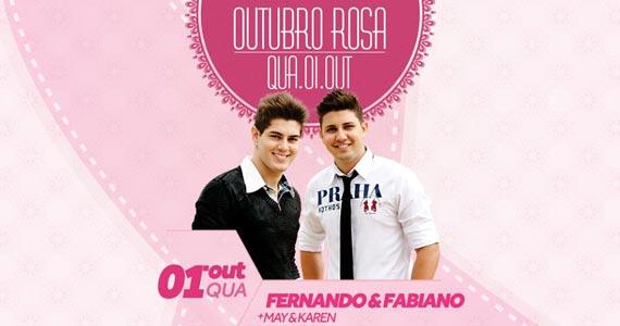 Festa de Lançamento Outubro Rosa com duplas sertanejas na Wood's Bar Eventos BaresSP 570x300 imagem