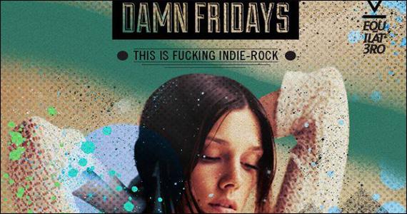 Club Yacht realiza a Noite Damn Fridays com Indie Rock Eventos BaresSP 570x300 imagem