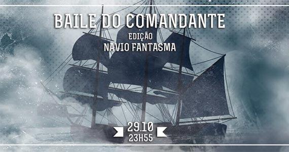 Club Yacht tem Baile do Comandante- Navio Fantasma na quinta feira Eventos BaresSP 570x300 imagem