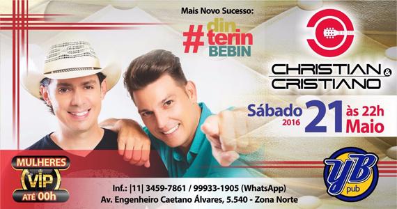 Christian & Cristiano comandam o sábado com muito sertanejo no Yes Brasil Eventos BaresSP 570x300 imagem