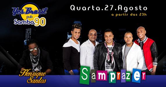 Yes Brasil Pub recebe os agitos de Nuwance e Henrique Santos  Eventos BaresSP 570x300 imagem