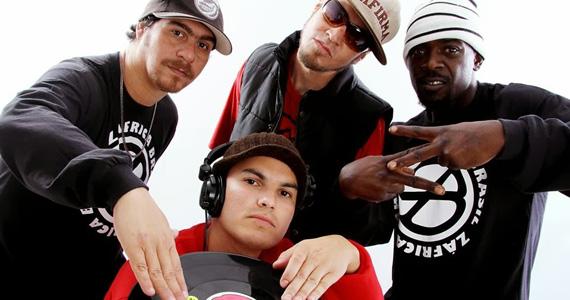 Grupo de rap Z'África Brasil se apresenta todas as quartas-feiras na Galeria Olido Eventos BaresSP 570x300 imagem