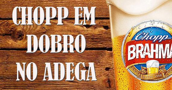 Double Chopp anima o happy hour desta terça-feira do Adega Original Eventos BaresSP 570x300 imagem