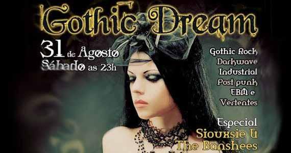 Festa Gothic Dreams agita sábado no Aeroflith com rock underground - Rota do Rock Eventos BaresSP 570x300 imagem
