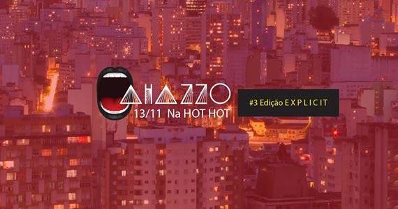 Festa Ahazzo Especial Explicit anima o palco da Hot Hot na sexta Eventos BaresSP 570x300 imagem
