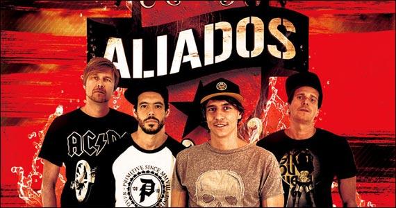 Cine Joia recebe a banda Aliados com lançamento do álbum Inoxidável Eventos BaresSP 570x300 imagem