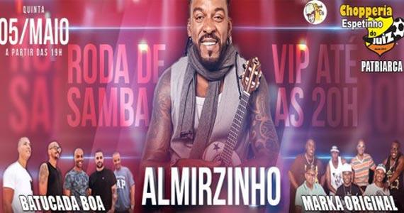 Bar Espetinho do Juiz recebe shows de Almirzinho, Batucada Boa e Marka Original Eventos BaresSP 570x300 imagem