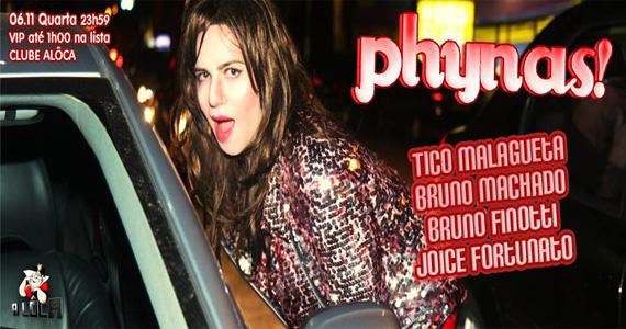 Festa Phynas recebe DJs para comandar a noite de quarta-feira na A Lôca Eventos BaresSP 570x300 imagem